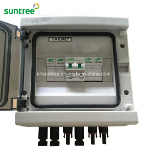 DC1000V 2 Strings PV Array with Lighting Protection Solar Power Box pictures & photos