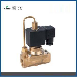 Diaphragm High Power Solenoid Valve Water Air Oil Valve in Brass