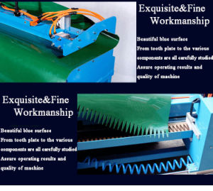 Holo Hydraulic Pressure Punching Equipment for Conveyor Belt pictures & photos