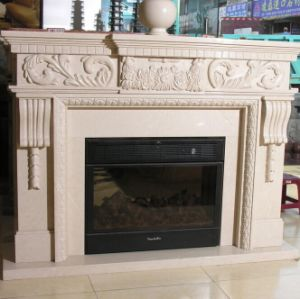 Stone Carving / Carved Marble /Stone Fireplace/Marble Fireplace pictures & photos