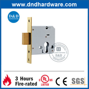 Operated by Key Ss304 Deadbolt Door Lock pictures & photos