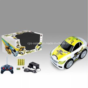 4 Channels RC Transforming Car with Music & Light