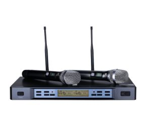 Singing Equipment Professional Wireless Microphone pictures & photos