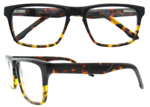 2016 New Model Double Color Unsex Acetate Optical Frame pictures & photos