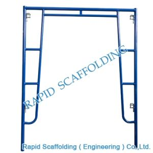Steel Walkthrough Frame Scaffolding High Quality PC Blue pictures & photos