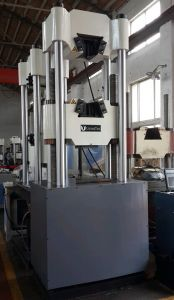 WEW-C Series PC Screen Display Manual Hydraulic Universal Testing Machine pictures & photos
