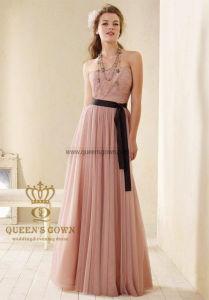 Elegant Pale Turquoise Chiffon Floor Length Long Bridesmaid Dresses