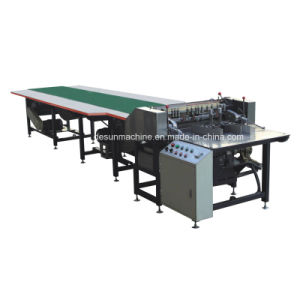 Roller Feeder Double Sides Paper Feeding Gluing Machine (YX-850B) pictures & photos