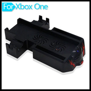 Double Console Cooling Fan Cooler Stand Charging Station for xBox One pictures & photos