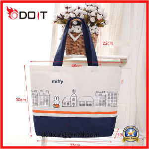High Quality Canvas Tote Hand Bag with Customer Logo pictures & photos