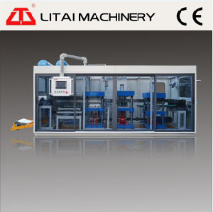 Plastic Coffee Cup Lid Forming Machine for PS/PVC/Pet pictures & photos