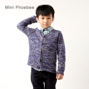 Wool Knitted Winter Children Clothing for Boys pictures & photos