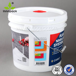 Plastic Pail with Gasket and Spout pictures & photos