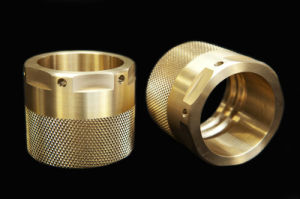 CNC Professionally Manufacturing Brass Stainless Steel Knurled Quick Connect Vacuum Coupler Quick Knurled Coupling pictures & photos