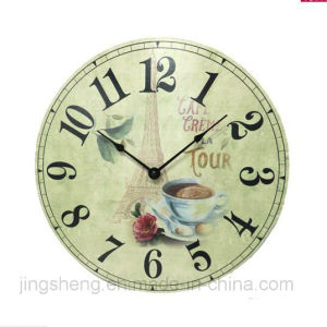 Customed Wall Clock Wooden Wall Clock for Promotion pictures & photos