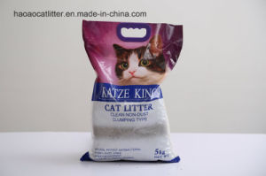 5kg Saving Irregualr Bentonite Cat Litter pictures & photos