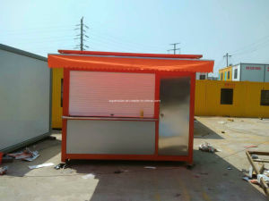 Low Cost Portable Simple Mobile Prefabricated/Prefab Coffee Bar/House in The Street pictures & photos