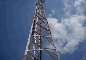 3 Legged Telecommunication Steel Towers with All Related Accessories for Telecom Sites