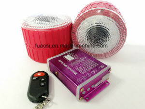 MP3 Audio Motorcycle Alarm System with Wheel Shape Speaker