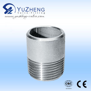 Stainless Steel Single Thread End Nipple pictures & photos