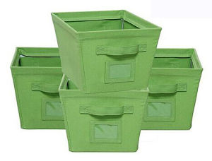 Good Design Green Storage Container with Printing