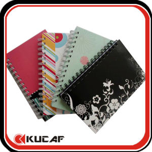 Promotional Subject Spiral Hardcover Organizer Notebook pictures & photos