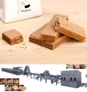 Small Wafer Biscuit Making Machine pictures & photos