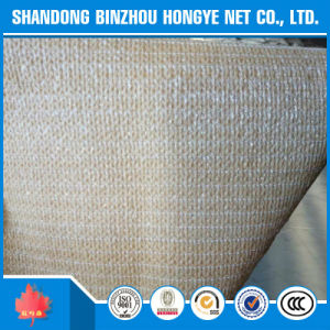 Beige Color HDPE Tape Type Sun Shade Net for UAE Market pictures & photos