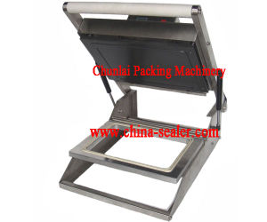 Hs300 Mini Manual Tray Sealing Machine pictures & photos