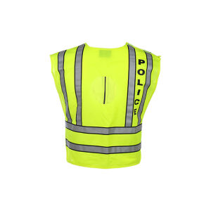 Class 2 ANSI Hi-Viz Reflective Safety Vest with Zipper pictures & photos