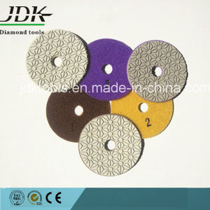 4 Inch Wet/Dry 3 Step Diamond Polishing Pads pictures & photos