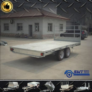 Flatdeck Interlink Tandem Trailers of 2t (SWT-FTT107) pictures & photos