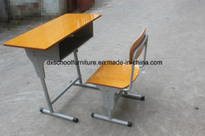 High Quality Wooden Furniture School Table and Chair pictures & photos