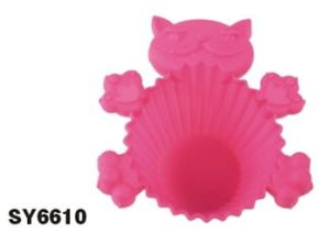 Silicone Mini Cake Cup & Cake Mould &Bakeware FDA/LFGB (SY6610) pictures & photos