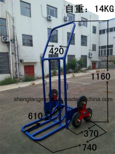 Folding Transportation Tool Hand Truck for Logistics & Warehousing pictures & photos