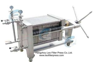 Leo Filter Stainless Steel Plate Filter Press pictures & photos