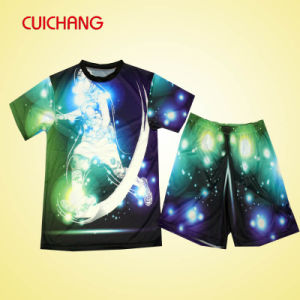 Custom Polyester Sublimation Soccer Uniform, Soccer Jersey pictures & photos