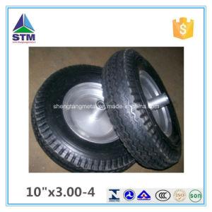 10 Inch Plastic Rim Air Rubber Wheel