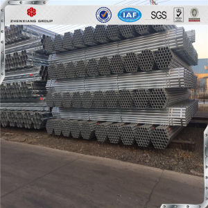 China Supplier ERW High Quality Q195 Low Carbon Black Steel Pipe Sizes pictures & photos