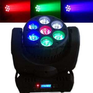 RGBW 4in1 7X12W LED Beam Wash Moving Head Light pictures & photos