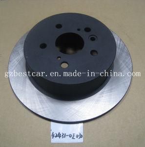 Highlander 42431-0e030 Auto Rear Brake Disc for Toyota