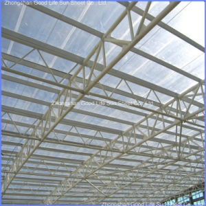 85% Light Transmission PC Hollow Roof Sheet pictures & photos