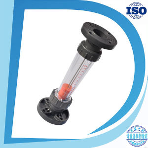 Flange Plastic Flowmeter Liquid Rotameter Air Water Flow Meter pictures & photos