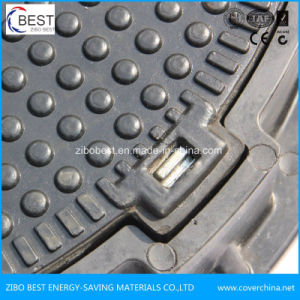 En124 Good Anti-Theft 650mm Composite Manhole Cover with Frame pictures & photos