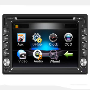 New Universal GPS Navigation Car DVD Player with Bluetooth Radio pictures & photos