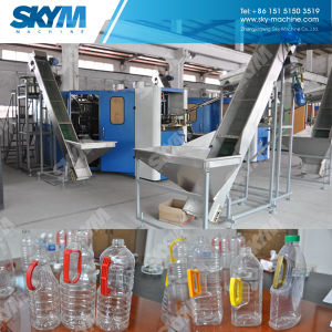 Pre-Loaded Handle Oil Bottle Blow Molding Machine pictures & photos