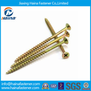 Yellow Zinc Plate High Quality Competitive Price Chipboard Screw pictures & photos