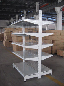 Mesh Supermarket Shelf/Used Supermarket Equipment pictures & photos