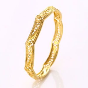 50933 Fashion Xuping Simple Gold Jewelry Bangle for Women on Sales Promotion pictures & photos