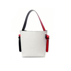 Unique Two Contrast Color Bag in Bag Ladies PU Handbag WZX1187 pictures & photos